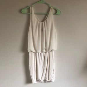 FREE with bundle white mini dress